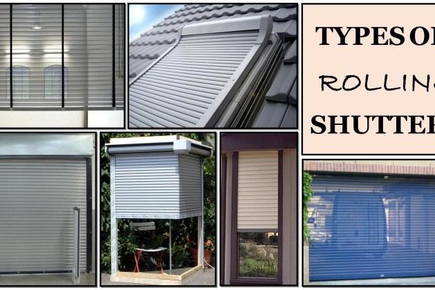 Types of Rolling Shutter Doors