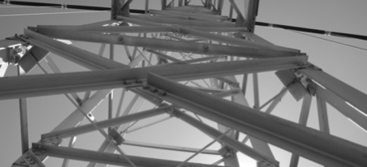 The towers of the Royal Gorge Bridge were constructed using lightweight steel structure
