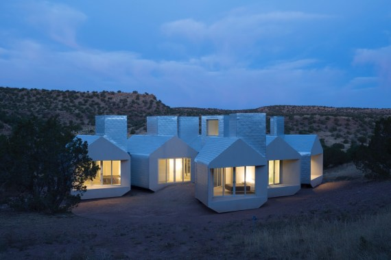 SIP Modular Building-Museum of Outdoor Arts Elements House by MOS Architects