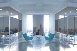 Smart-Tinting Glass for Greener Cities