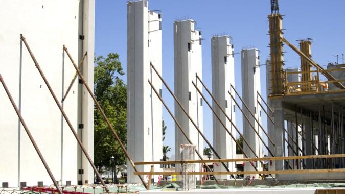 Construction using Tilt-up Concrete Panels