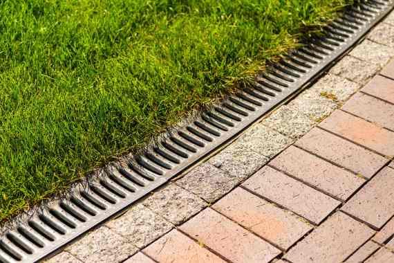 Footpath drainage