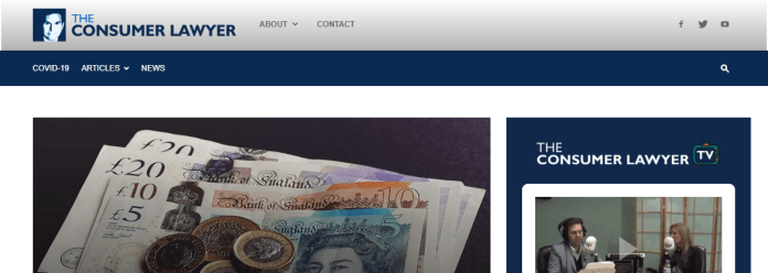 The Consumer Lawyer launches new site with a new team