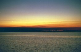 Sunset 2, Lake Charles, LA (copyright: Laurie Snyder, 1999)