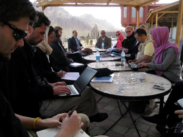 UN Brainstorming session in Bamyan
