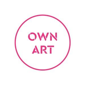 Own Art logo pink