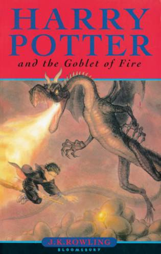 The Goblet of Fire by JK Rowling - The Contented Reader