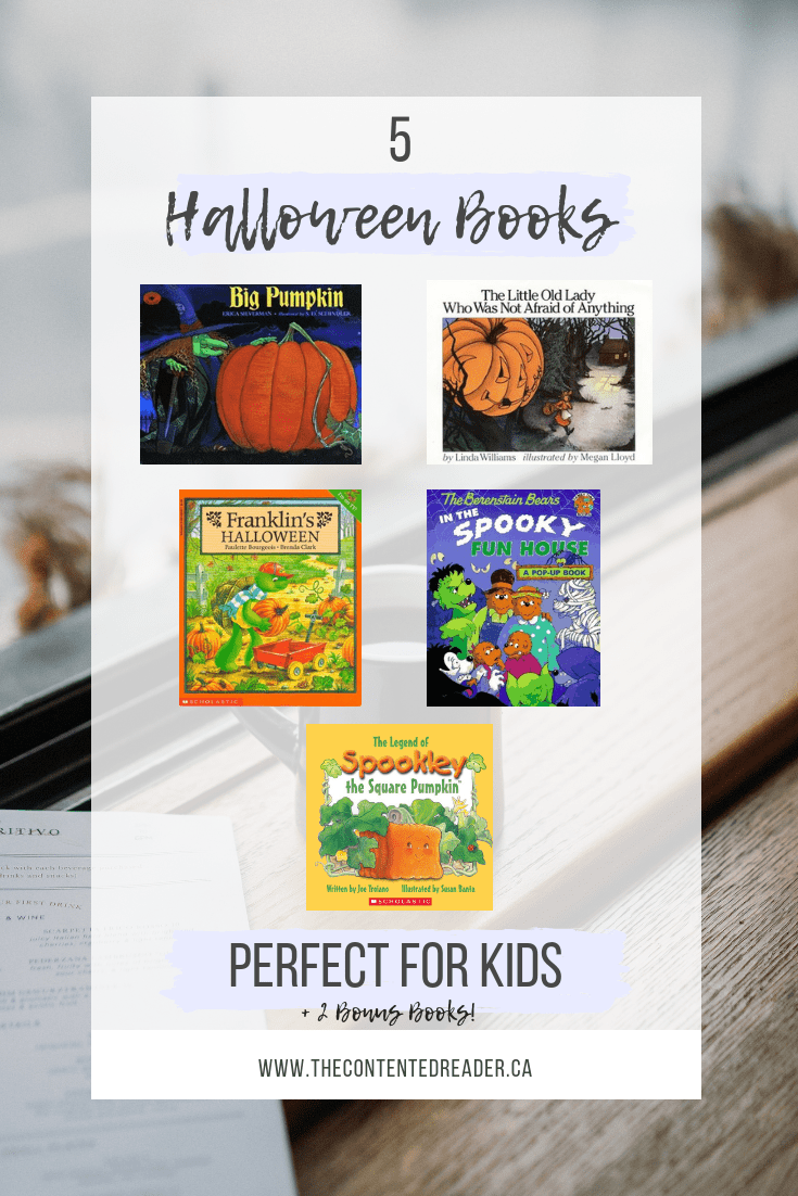 5 Halloween Books Perfect for Kids!