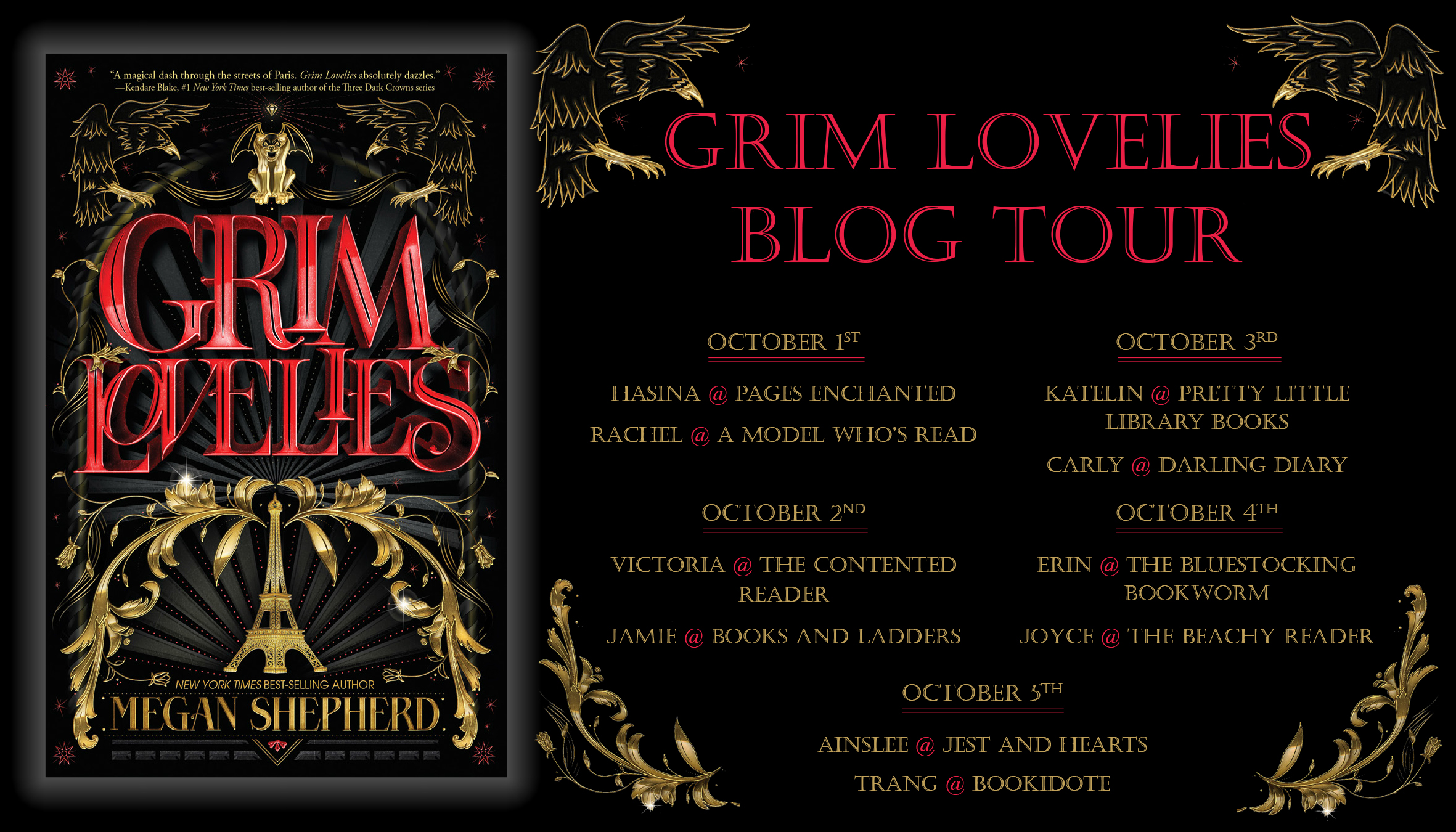 Grim Lovelies Blog Tour - The Contented Reader