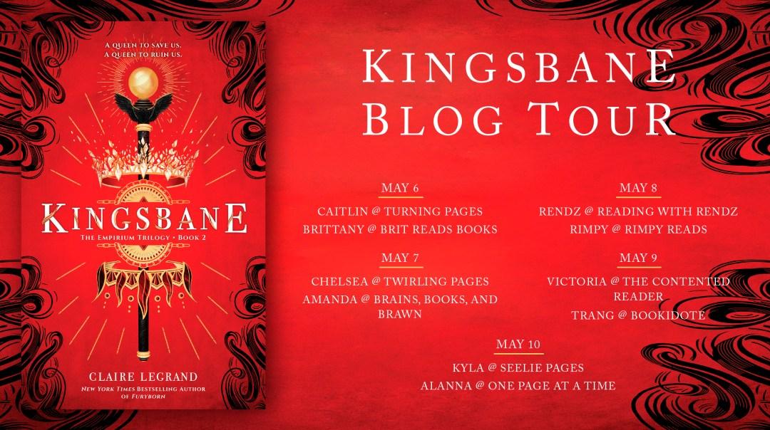 Kingsbane Blog Evite - The Contented Reader