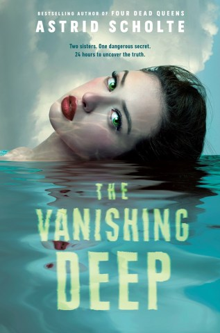 The Vanishing Deep by Astrid Scholte Book Cover