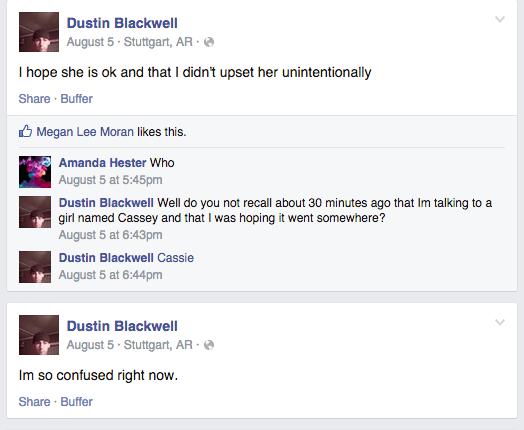 Dustin Blackwell Facebook
