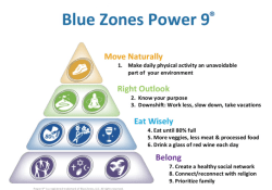 9 Tips for Living Longer Blue Zones