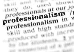 Professionalism Is A Racket