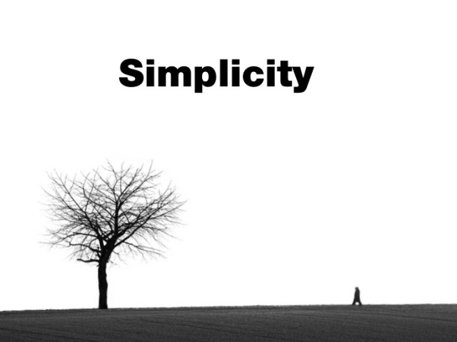 Simplicity as Business Strategy