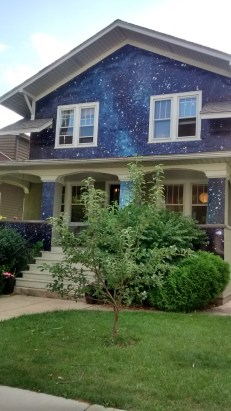 "Claudine Ise's house, Kate McQuillen's ""Night House"""