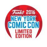 logo – Funko (NYCC New York Comic Con 2016, Limited Edition Badge)