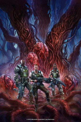 IDW Publishing GEARS OF WAR: HIVEBUSTERS art