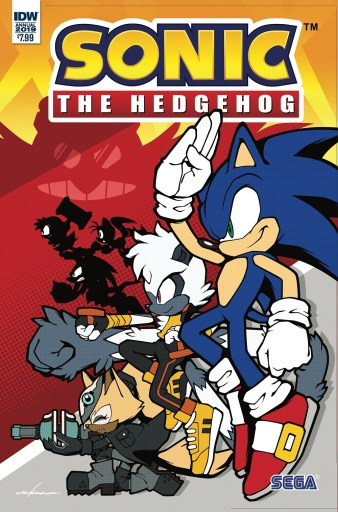 IDW Publishing SONIC THE HEDGEHOG ANNUAL 2019 cover