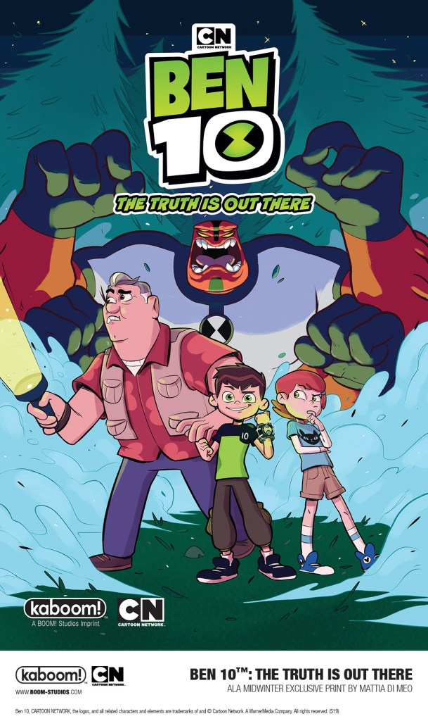 Cover of BOOM! Studios BEN 10 ALA MidWinter exclusive