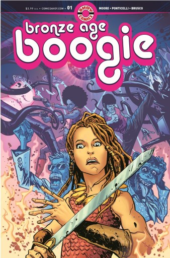 Cover of AHOY Comics BRONZE AGE BOOGIE