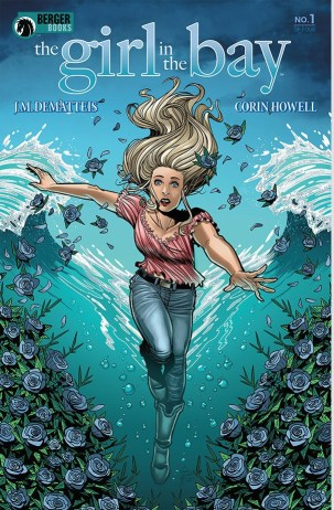 Cover of Dark Horse's THE GIRL IN THE BAY #1