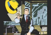 Cover of IDW Publishing's DICK TRACY FOREVER #1 by Michael Avon Oeming