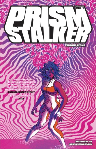 Cover of Image Comics' PRISM STALKER VOL. 1 2nd print with art by Sloane Leong