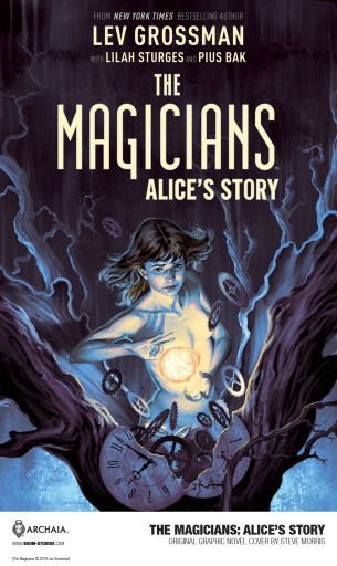 Cover of BOOM! Studios'  THE MAGICIANS: ALICE'S STORY  graphic novel