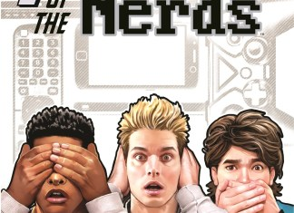 Cover of AHOY Comics PLANET OF THE NERDS
