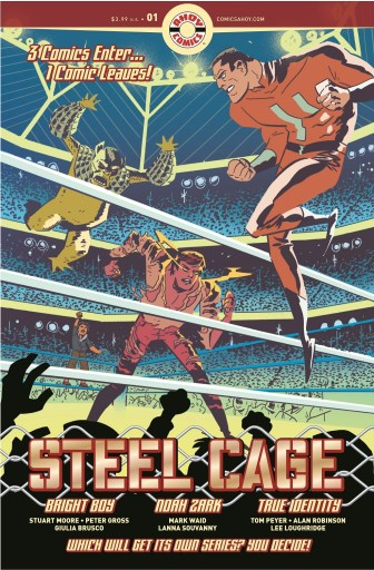 Cover of AHOY Comics STEEL CAGE