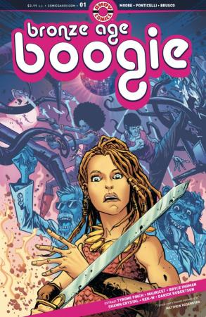 Bronze Age Boogie #1 cover