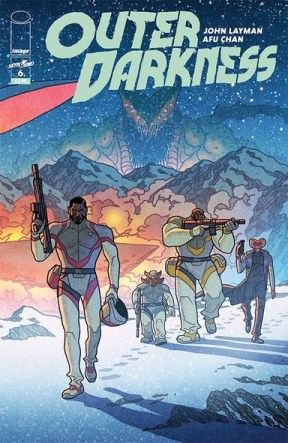 Outer Darkness #6 review cover