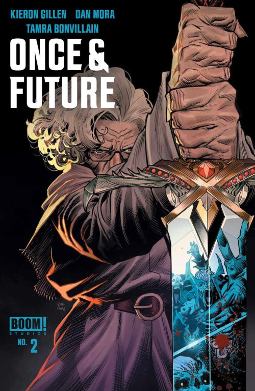 Cover of Once & Future #2