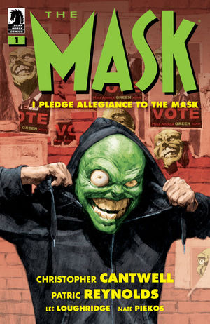The Mask: I Pledge Allegiance to the Mask cover art