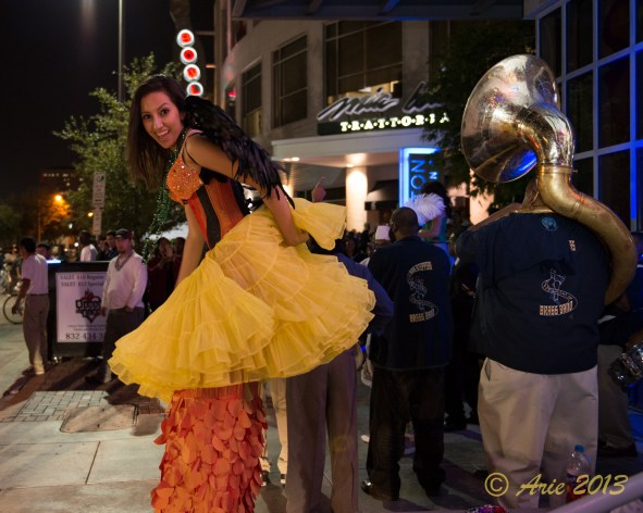 Mardi Gras at the Houston Pavilions