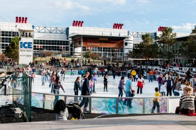 Discovery Green Ice Rink