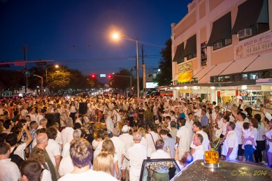 White Linen Night in the Heights 2014