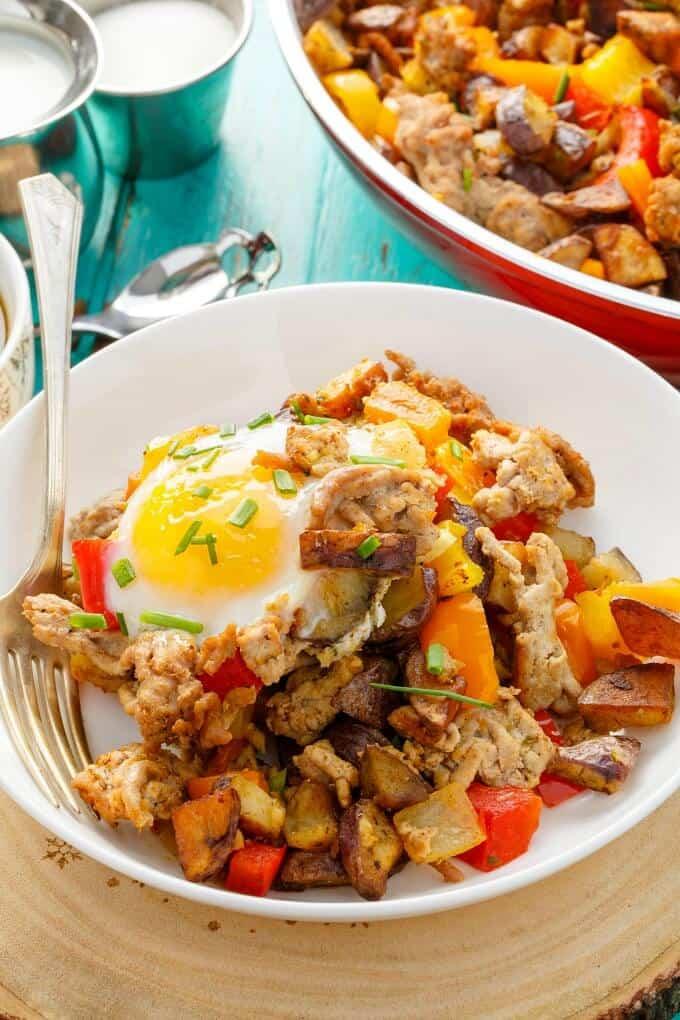 Turkey Potato Hash