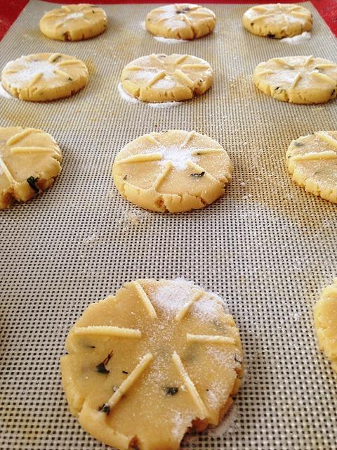 Honey Basil Cookies(Dough)