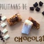 Napolitanas de chocolate. Receta fácil