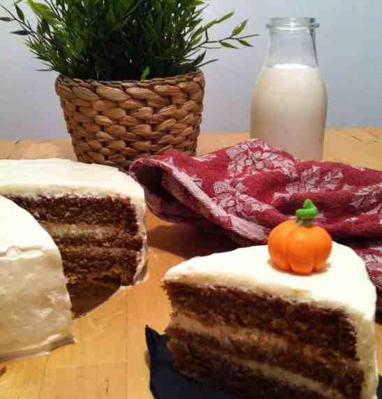 Receta de tarta de calabaza