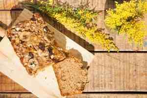 Receta gluten free bizcocho platano