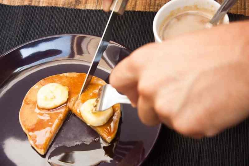 Pancakes de platano receta facil