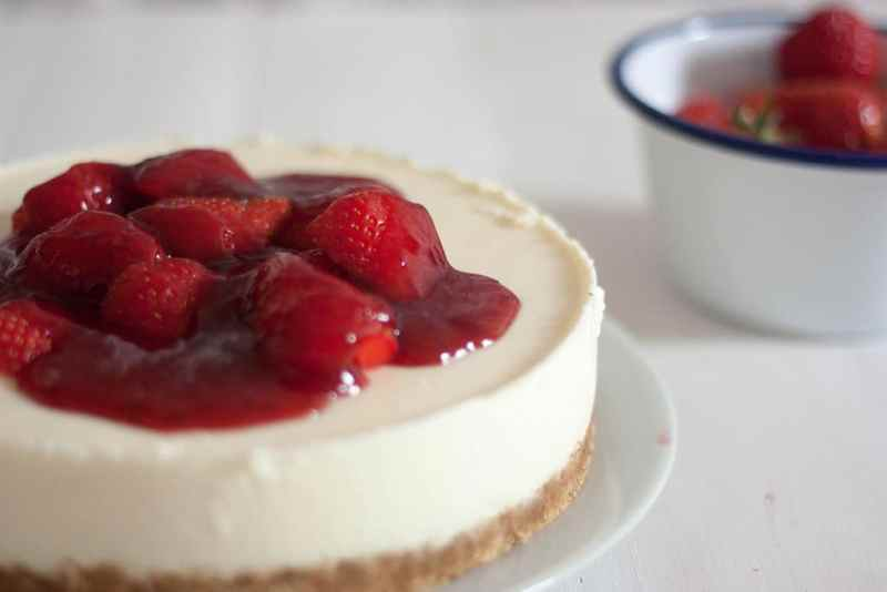 Como hacer tarta de chocolate blanco sin horno