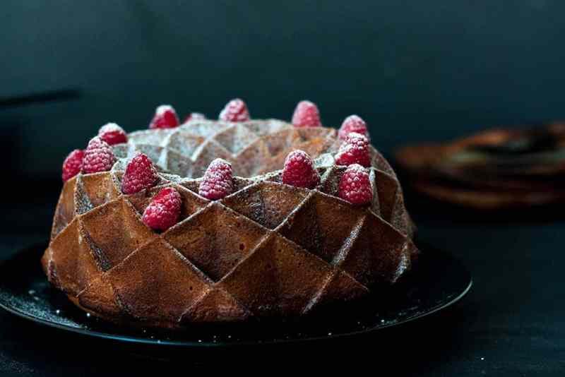 Receta bundt cake chocolate blanco