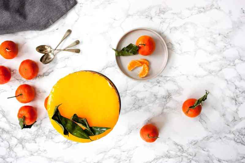 receta cheesecake mandarina