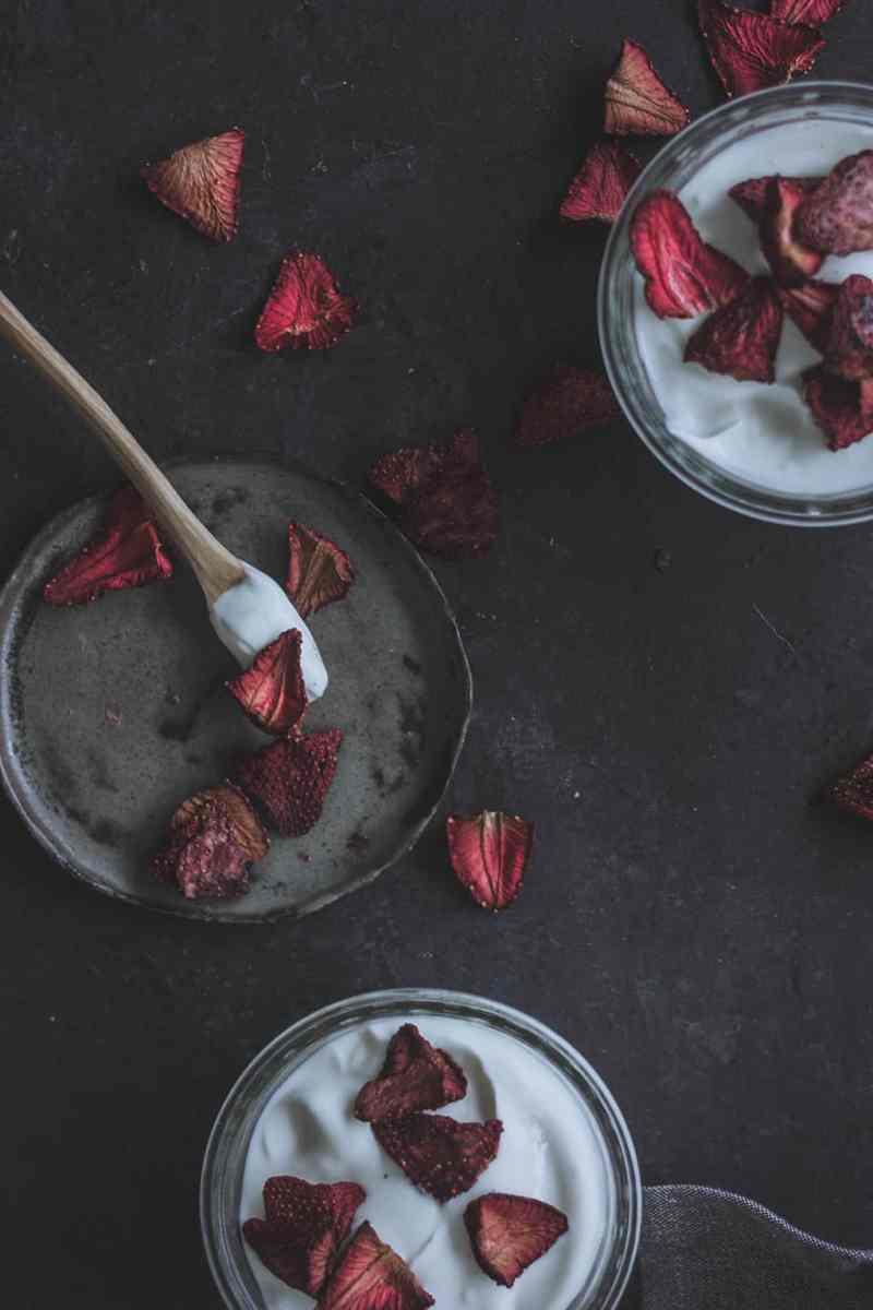 deshidratar fresas