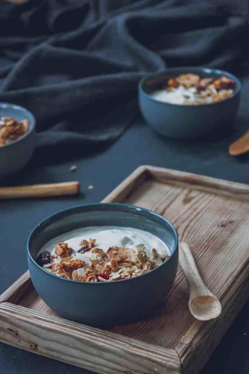 granola facil receta