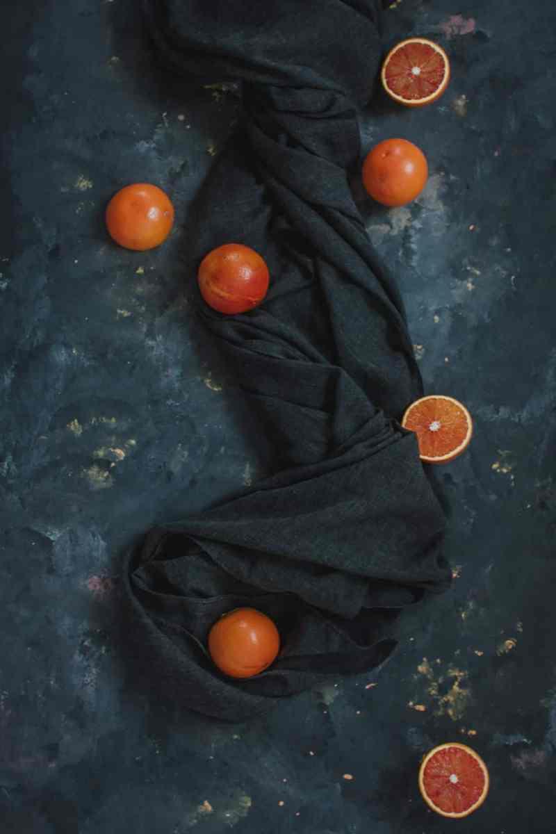 naranjas sanguinas rojas